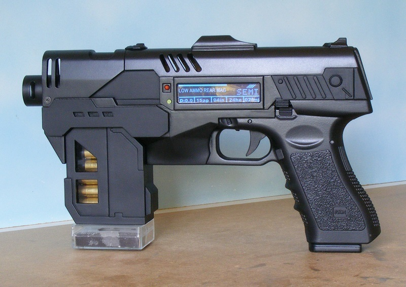 3D printed lawgiver project.